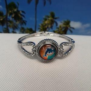 Jewelry - Miami Dolphins Bracelet